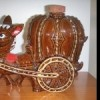 donkey and cart decanter